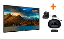 Kit Videoconferencia Logitech Group + Panel Promethean ActivPanel 65""
