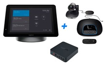 Kit Logitech Group + SmartDock + Extender Box