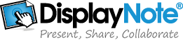 DisplayNote - Presente. Share. Colaborar.
